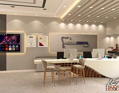 dental clinic interior design ( healthcare )