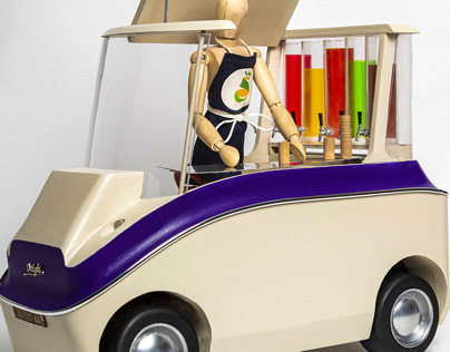 Golf-cart mockup