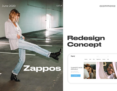 Zappos redesign concept ( ecommerce)