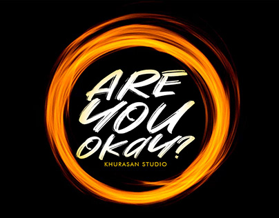 Free Are You Okay Brush Font