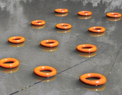 ORANGE RINGS | Site-specific Art Installation, 2016