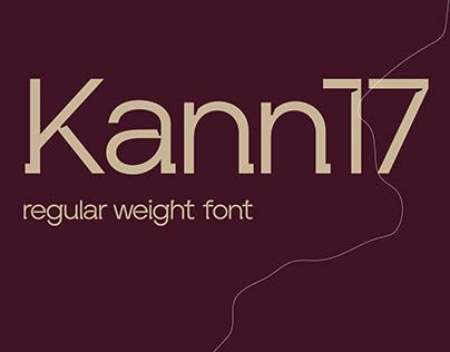 Kann17 font redesign