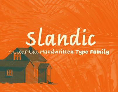 Slandic Typeface