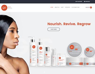 GLS Hair ECommerce Website