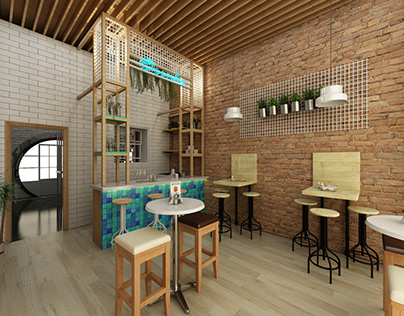 Cafe & Spa Design   Maxima Interior Design Studio