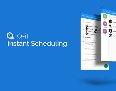Instant Scheduling by Q it