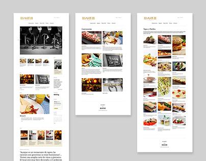 Elsa y Fred - Redesign Website