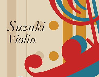 Suzuki Violin Alternate Cover