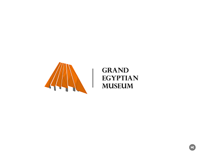 Grand Egyptian Museum logo | Unofficial