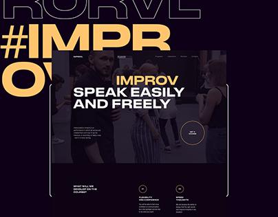 Corporate site - Improv