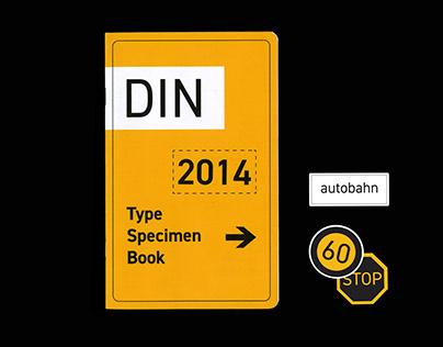 DIN 2014 Specimen Book
