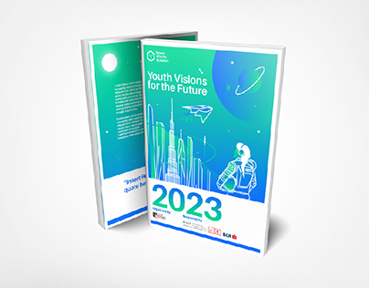 """Book Cover for """"2023: Youth Visions for the Future"""""""