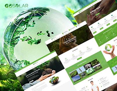 Go Solar – Eco & Nature Environment WordPress The