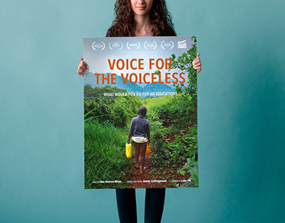 Voice for the voiceless · Film poster