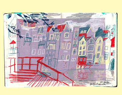 Rotterdam sketchbook, june-july 2020