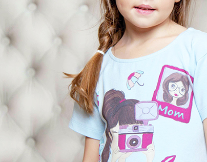 illustrations for children's pajamas
