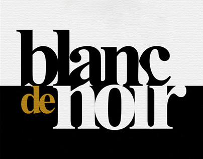 The Wine Story, Blanc de Noir
