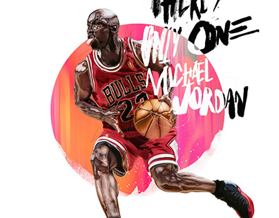Michael Jordan 55th.