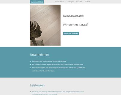JF Pavimenti Website