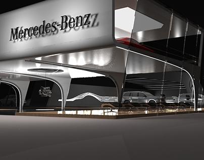 Mercedes-Benz Autoshow Exhibit Concept