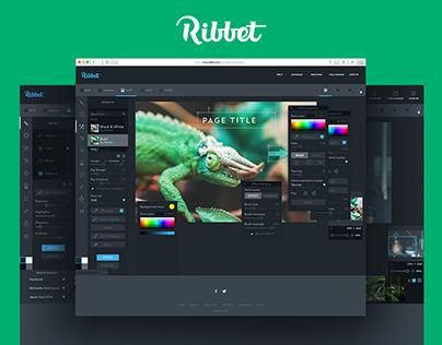 Design for Online Photo Editor Ribbet.com