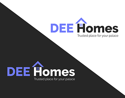 Dee Homes | Real Estate Logo & Brand Identity