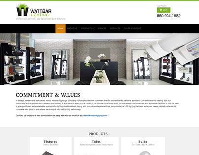 Commercial Lighting eCommerce Website