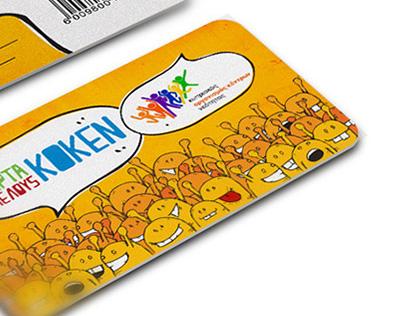 KOKEN - Membership Card Design