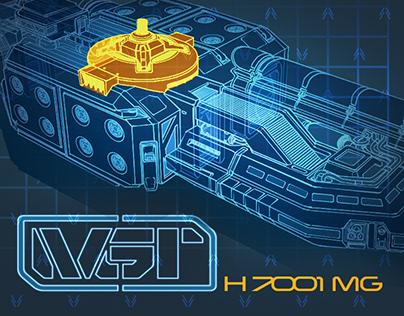 Asteroid Mining Vessel Design Concept