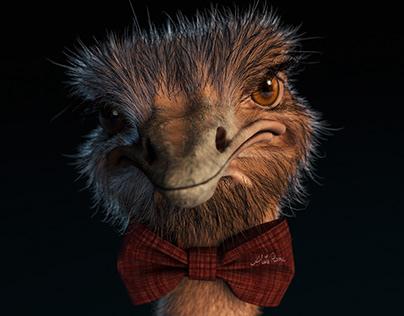 Mr Ostrich
