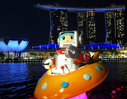 OBOT x Water B River Cruise along Singapore River