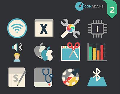 Flat iCons Utilities 2016