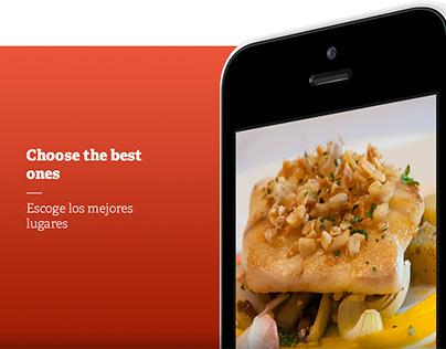 UI/UX & Brand for AlaMesa iOS App