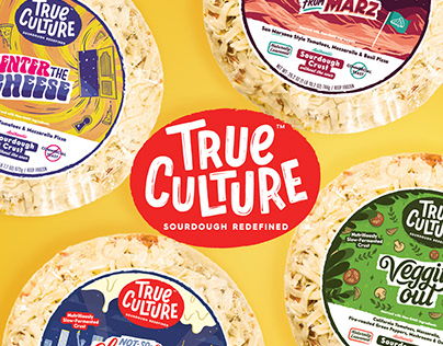 True Culture Pizza - Branding and Packaging