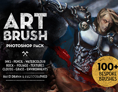 Matt's Photoshop Art Brush Set