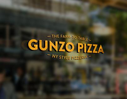 Identidad visual para Gunzo Pizza