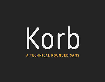 Korb typeface