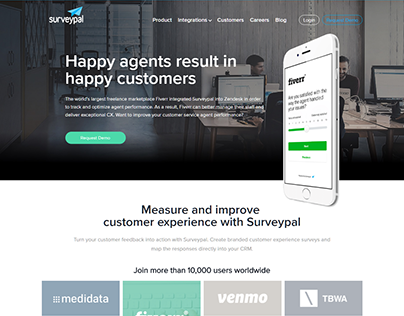 Surveypal Measure another survey related webdesign idea