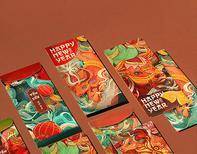YEAR OF THE OX - Tet Red Envelope Collection 2021