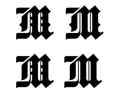 Maverick Unbranded Blackletter Design