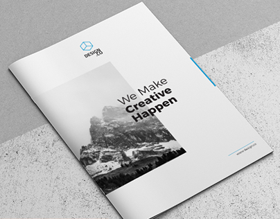 Creative Brochure Template A4 Vol. 02