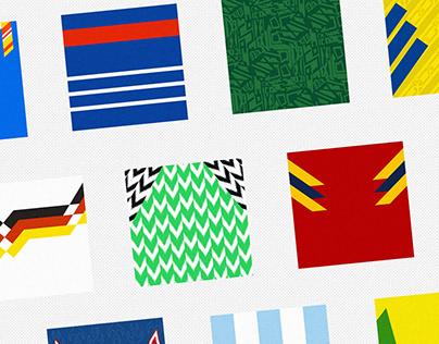 World Cup in Pattern - Soccerpattern