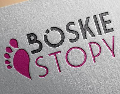 Boskie Stopy - Logo