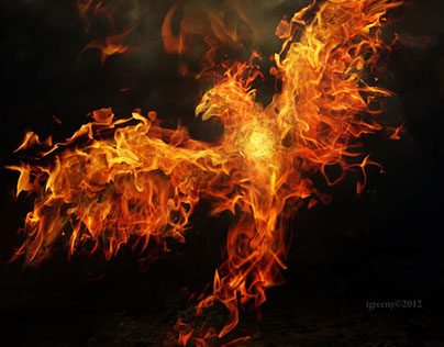 Compilation of photomanipulations with fire.