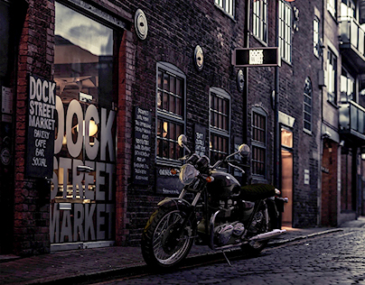 Cinema 4D Triumph Bonneville
