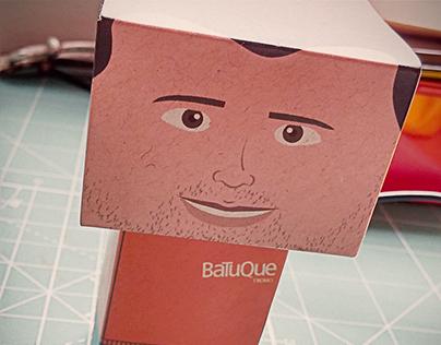 Paper Toys Batuque