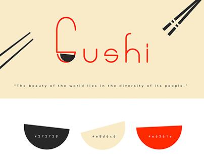 SUSHI - Branding Japanese Food