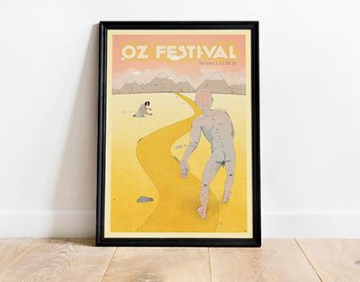Affiche Oz Festival