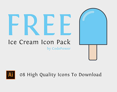Free Ice Cream Icon Pack