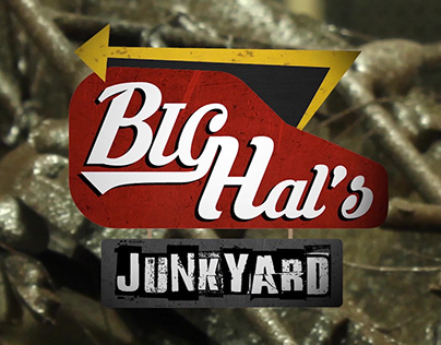 Big Hal's Junkyard Title Animation